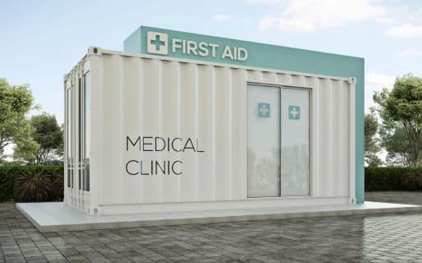 container clinic large